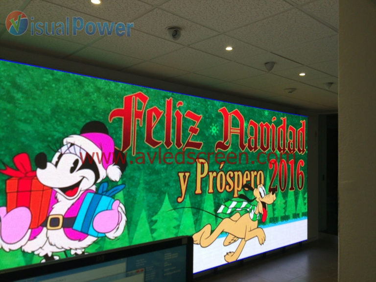P3 indoor LED display for Mexico