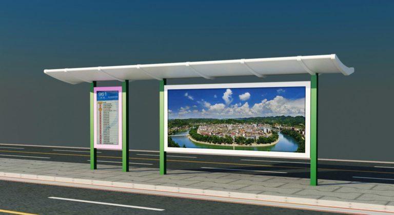 Bus Station LED billboard solution