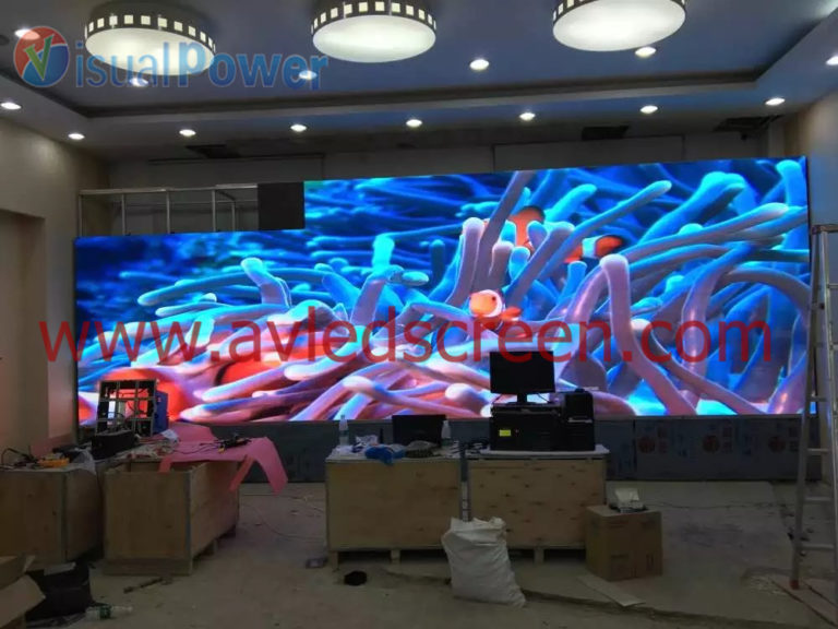 P2.5 indoor LED display project