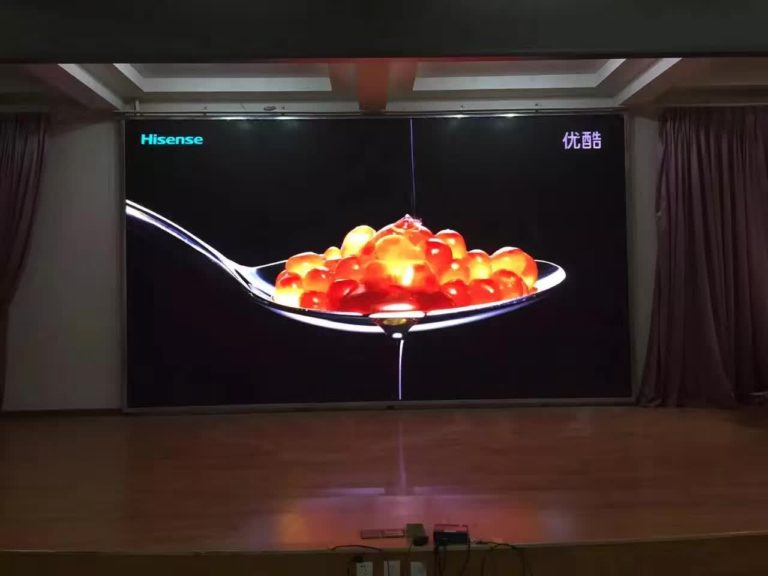 Visualpower published indoor P3 LED display with mask