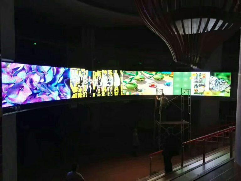 Super long LED Display solution
